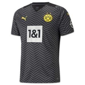 Camisa Oficial Borussia Dortmund 21/22 Away Torcedor