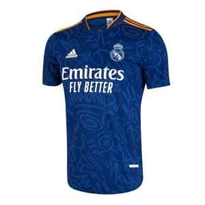 Camisa Oficial Real Madri 21/22 Away Torcedor