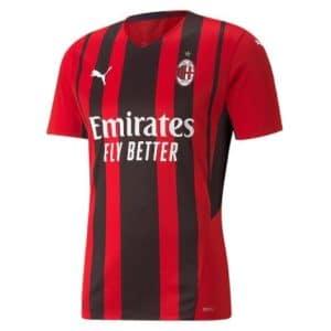 Camisa Oficial Milan 21/22 Home Torcedor