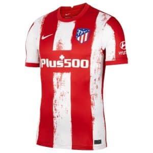 Camisa Oficial Atlético de Madri 21/22 Home Torcedor