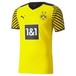 Camisa Oficial Borussia Dortmund 21/22 Home Torcedor
