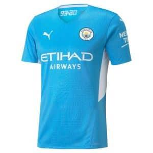 Camisa Oficial Manchester City 21/22 Home Torcedor