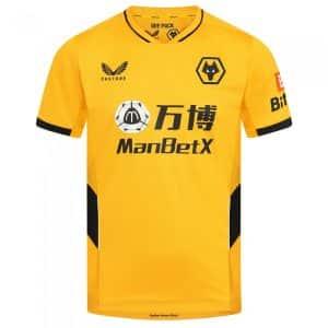 Camisa Oficial Wolverhampton 21/22 Home Torcedor