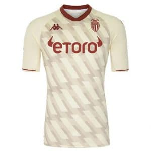 Camisa Oficial Mônaco FC 21/22 Away Torcedor