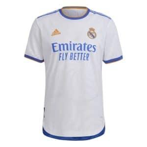 Camisa Oficial Real Madri 21/22 Home Torcedor