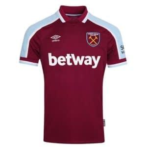 Camisa Oficial West Ham 21/22 Home Torcedor