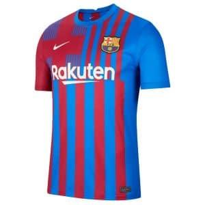 Camisa Oficial Barcelona 2122 Home Torcedor