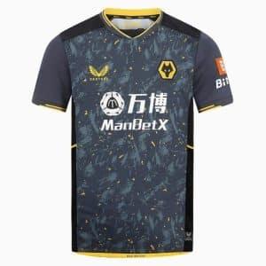 Camisa Oficial Wolverhampton 21/22 Away Torcedor