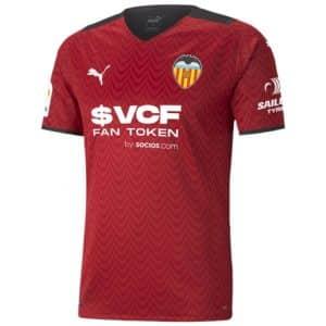Camisa Oficial Valencia 21/22 Away Torcedor
