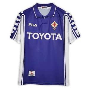 Camisa Retrô Fiorentina 99/00 Home
