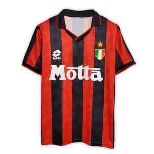 Camisa Retrô Milan 93/94 Home