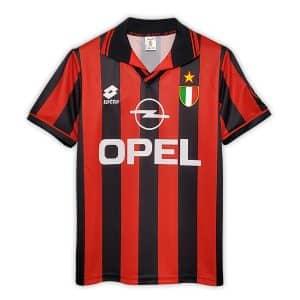 Camisa Retrô Milan 96/97 Home