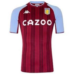Camisa Oficial Aston Villa 21/22 Home Torcedor