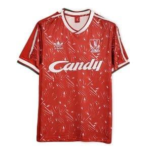 Camisa Retrô Liverpool 89/91 Home