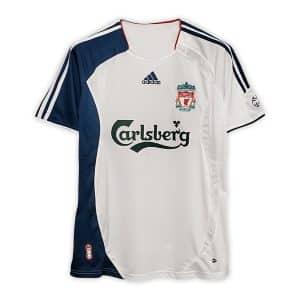 Camisa Retrô Liverpool 06/07 Away
