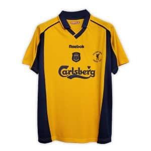 Camisa Retrô Liverpool 00/01 Away