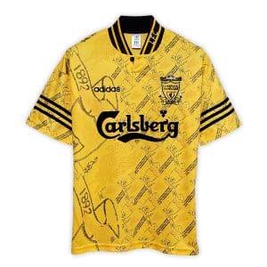 Camisa Retrô Liverpool 94/96 Away