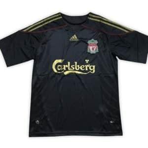 Camisa Retrô Liverpool 09/10 Away