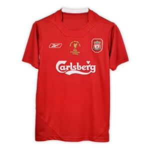 Camisa Retrô Liverpool 2005 Home