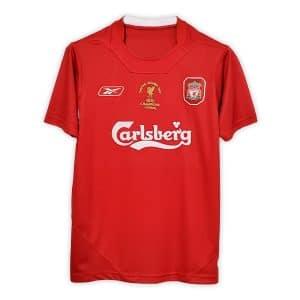 Camisa Retro Liverpool 2005 Home