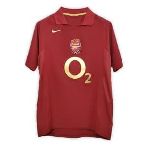 Camisa Retrô Arsenal 05/06 Home