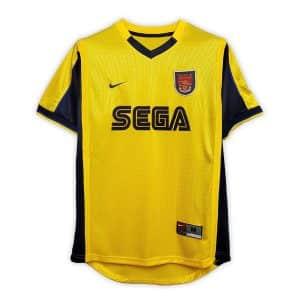 Camisa Retrô Arsenal 99/00 Away