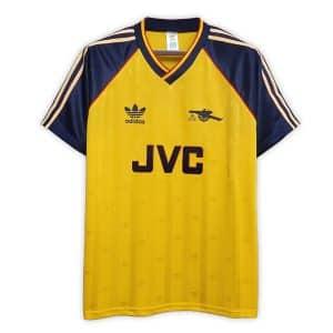 Camisa Retrô Arsenal 88/89 Away