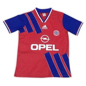 Camisa Retrô Bayern de Munique 1993 Home
