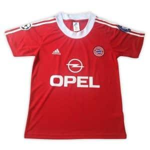 Camisa Retrô Bayern de Munique 1991 Home