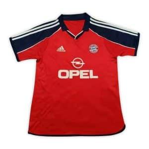 Camisa Retrô Bayern de Munique 00/01 Home