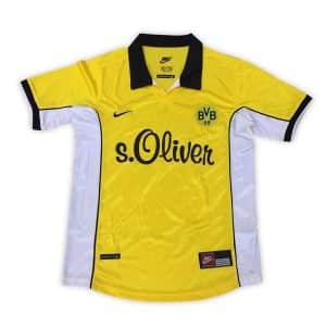 Camisa Retrô Borussia Dortmund 1998 Home