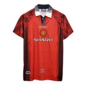 Camisa Retrô Manchester United 1996 Home