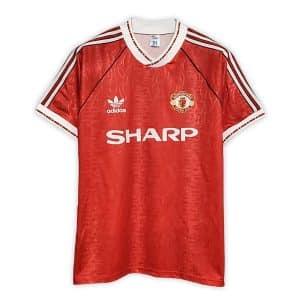 Camisa Retrô Manchester United 90/92 Home