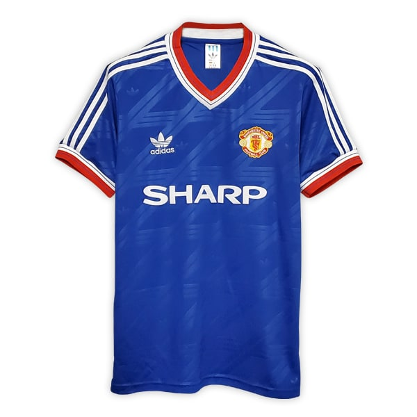 Camisa Retrô Manchester United 86/88 Third