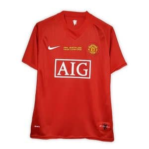 Camisa Retrô Manchester United 07/08 Home