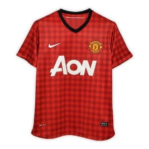 Camisa Retrô Manchester United 12/13 Home
