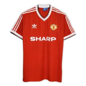 Camisa Retrô Manchester United 83/84 Home