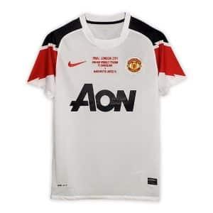 Camisa Retrô Manchester United 10/11 Away