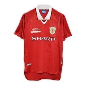 Camisa Retrô Manchester United 99/00 Home