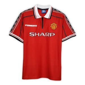 Camisa Retrô Manchester United 98/99 Home