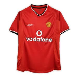 Camisa Retrô Manchester United 00/01 Home