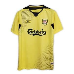 Camisa Retrô Liverpool 04/05 Away