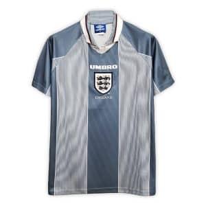 Camisa Retrô Inglaterra 1996 Away