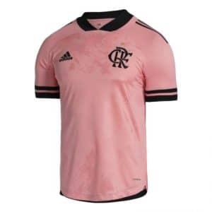 Camisa Oficial Flamengo 20/21 Outubro Rosa Torcedor