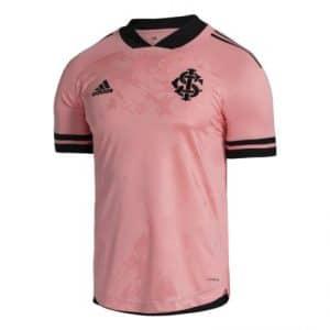 Camisa Oficial Internacional 20/21 Outubro Rosa Torcedor