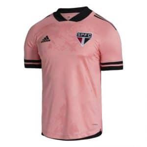 Camisa Oficial São Paulo FC 20/21 Outubro Rosa Torcedor