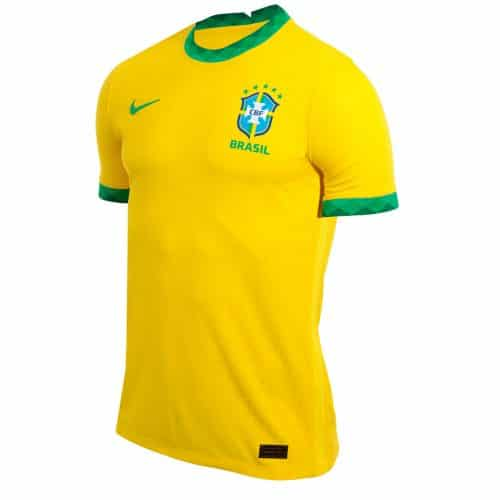 Camisa Oficial Brasil 20/21 Home Torcedor