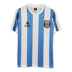 Camisa Retro Argentina 1986 Home