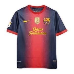 Camisa Retrô Barcelona 12/13 Home