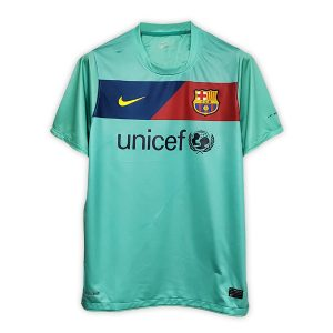 Camisa Retrô Barcelona 10/11 Away